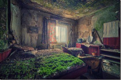 Czy zrujnowane wnętrza mogą być piękne?