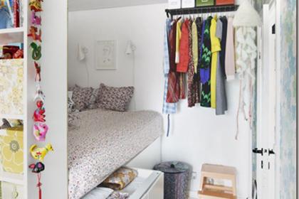 Malutkie pokoje dla dzieci a projekt sypialnia