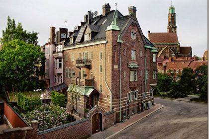 Historyczny hotel w Skandynawii