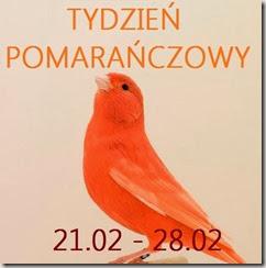 Tydzień pomarańczowy: color block–kolor pomarańczowy w duecie z różem
