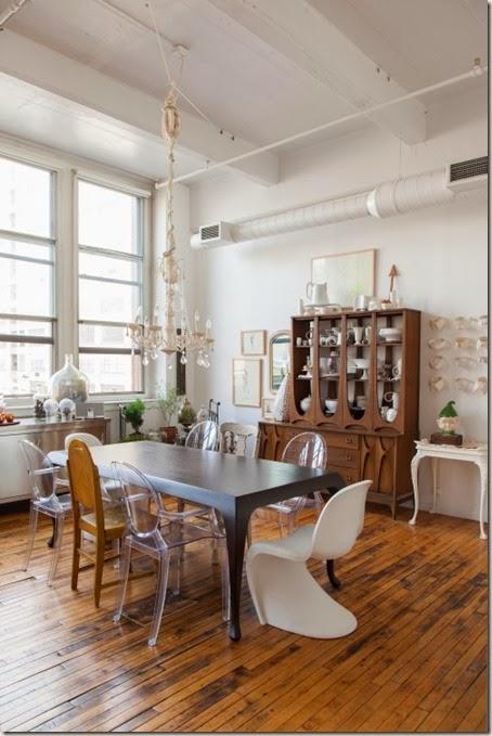 Eklektyczny loft, przepis na ciekawe wnętrze