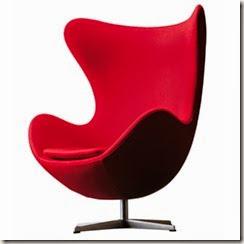 Krzesło w roli głównej: Fotel egg