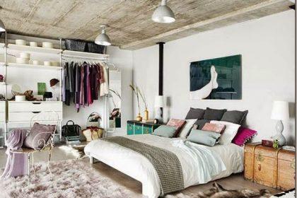Funkcjonalny loft w Madrycie