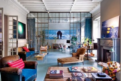 Błękitny loft