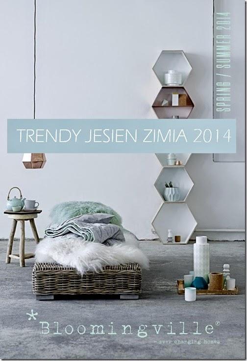 Trendy: 10 trendów we wnętrzach na sezon jesień - zima 2014 by Bloomingville