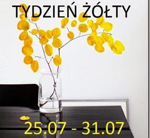 Tydzień żółty: szary i żółty