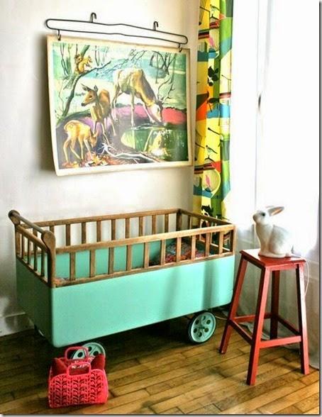 Trendy w pokoju dziecięcym: ryciny zwierząt