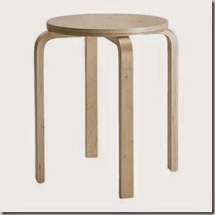 METAMORFOZY IKEA: stołek Frosta/ FROSTA STOOL
