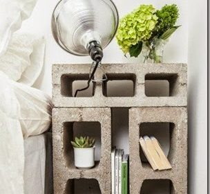 Trendy: 10 pomysłów na wykorzystanie betonowych pustaków we wnętrzach/ 10 cinderblock idea