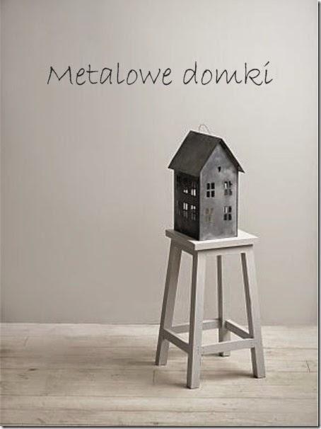 TRENDY: Metalowe domki