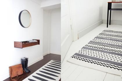#4 Wymień dywan na nowy: przedpokój