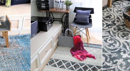 #6 Wymień dywan na nowy: salon