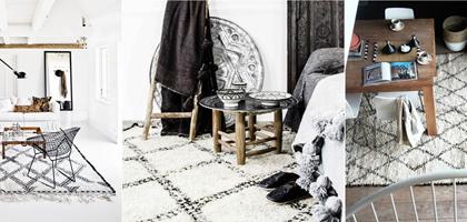 TRENDY: marokańskie dywany/berber rugs