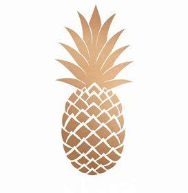 TRENDY owocowe: ananas we wnętrzach
