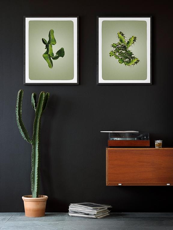 Liść na ścianie - botaniczne inspiracje