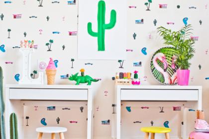 TRENDY W POKOJU DZIECIĘCYM: kaktus //cactus kids decor
