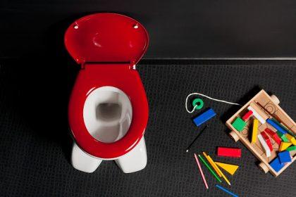Łazienka, jako centrum dziecięcych zabaw?