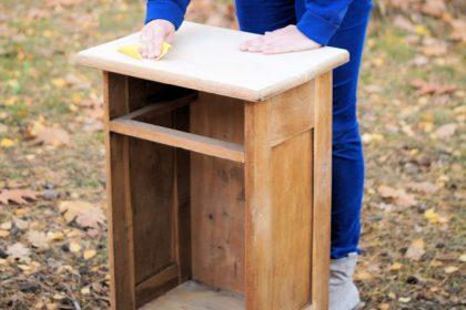 DIY: renowacja szafki część 2