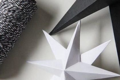DIY: Gwiazdki