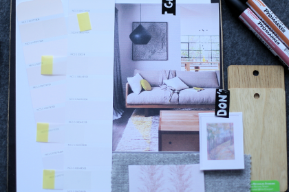 Projekt mieszkaniowy #8: lniana sypialnia