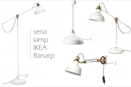 METAMORFOZY IKEA: 6 metamorfoz lampy RANARP
