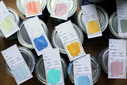 DIY: etykiety na farby do pobrania