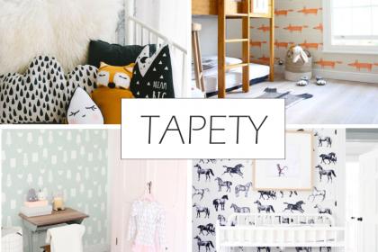 TRENDY: Tapety wracają do łask #2 - Top 5 tapet do pokojów dzieci