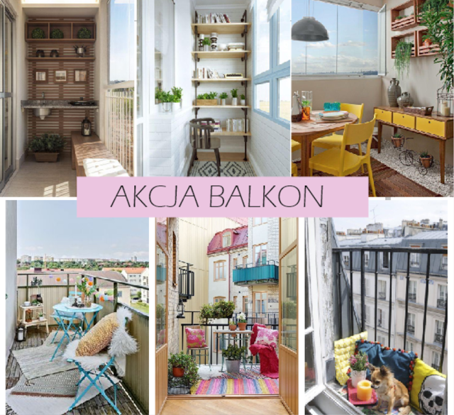 akcja balkon 10 pomys w na w ski balkon. Black Bedroom Furniture Sets. Home Design Ideas