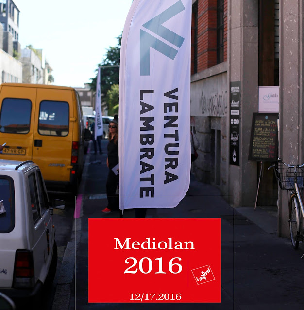 MEDIOLAN 2016: VENTURA/ LAMBRATE dzielnica młodych projektantów cz.1
