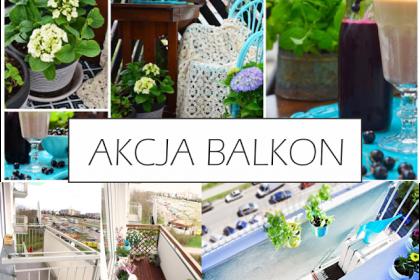 AKCJA BALKON: 10 metamorfoz balkonów polskich blogerek
