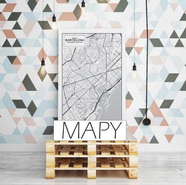 TRENDY: mapy