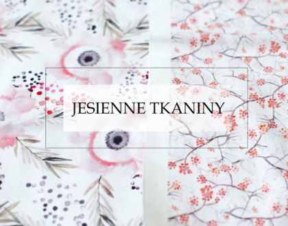 DIY: Jesienne tkaniny