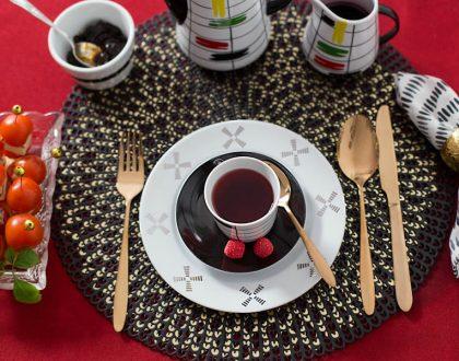 Prometeusz na ognistym czerwonym stole. D. Duszniak - historia ponadczasowego designu.