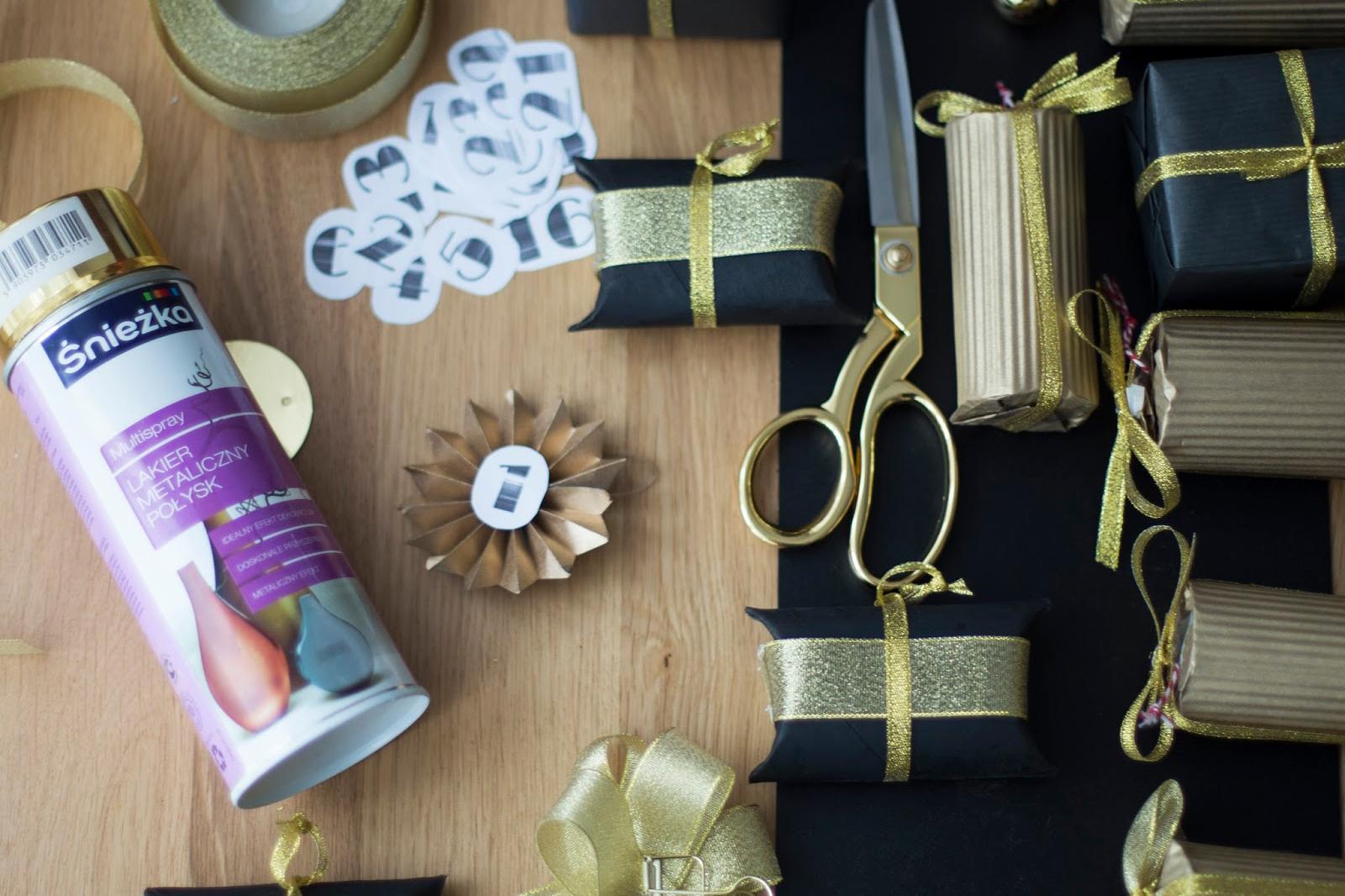 DIY- kalendarz adwentowy 2016