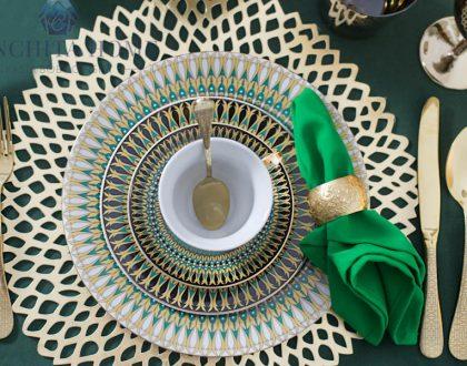 India na Świątecznym stole. Ethnic Chic