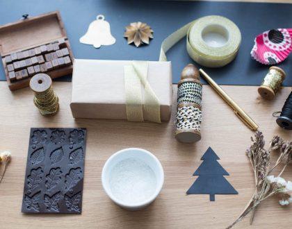 DIY Z PAPIERU pakowanie prezentów i życzenia