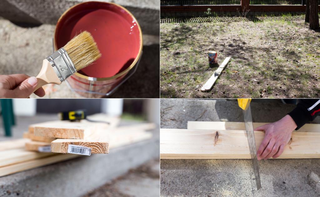 jak zrobić piaskownicę DIY
