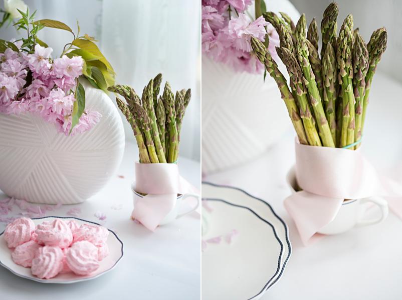 Stół inspirowany wiosną