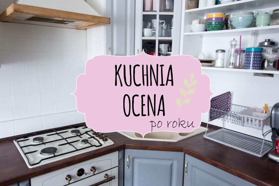 Jak wyglądają malowane szafki kuchenne i glazura po roku użytkowania?