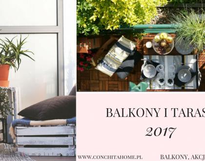 Blogerki urządzają tarasy i balkony - 2017 |AKCJA BALKON|