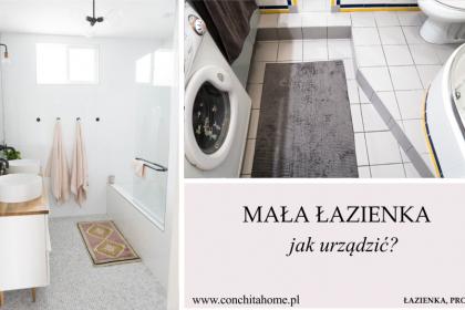 MAŁA ŁAZIENKA - Jak zaprojektować małą łazienkę i nie popełnić typowych błędów?