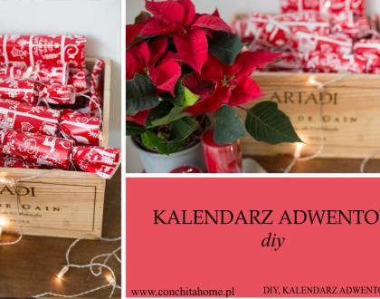 DIY -kalendarz adwentowy 2018
