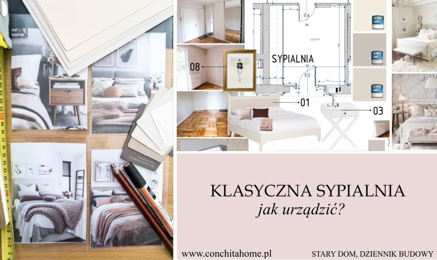 STARY DOM: Jak urządzić sypialnię w stylu klasycznym?
