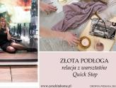 Złota podłoga, czyli nowy niezwykły produkt na polskim rynku.