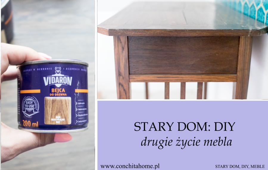 DIY: Renowacja stolika pod umywalkę