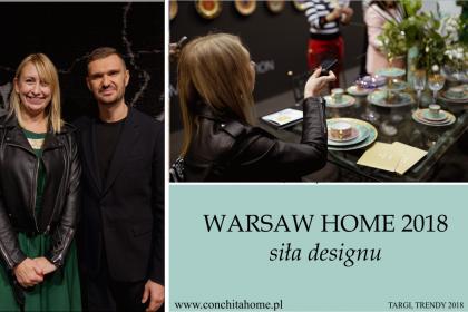 WARSAW HOME 2018 - SIŁA DESIGNU