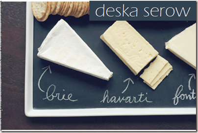 DIY: Deska serów