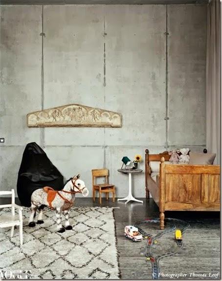 Pokój dziecięcy w stylu retro