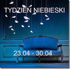 Tydzień niebieski: niebieska sypialnia