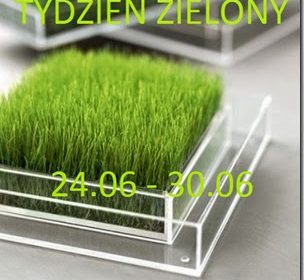 Tydzień zielony: zielone szkło